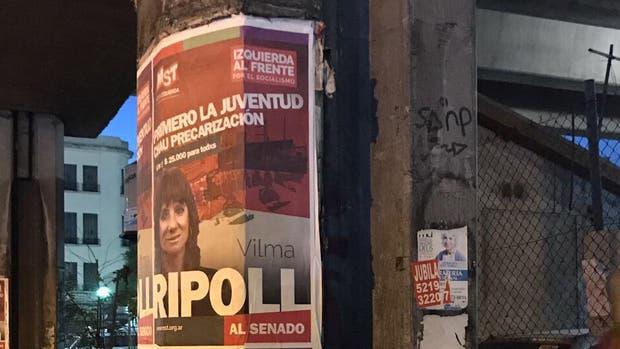 Afiches políticos por todas partes: denuncian que los partidos violan la ley para hacer propaganda