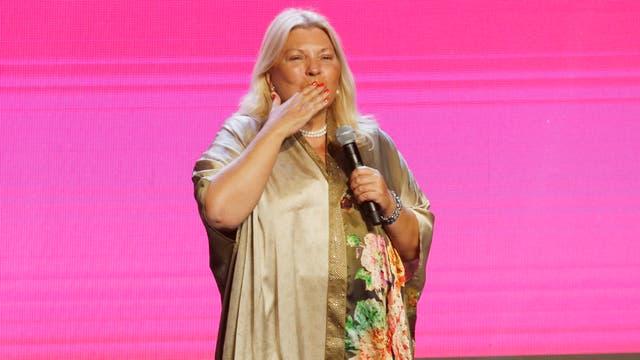 """Elisa Carrió dijo que está """"conmovida"""" por su contundente triunfo en la ciudad de Buenos Aires"""