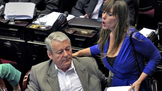 Juliana Di Tulio y Carlos Kunkel