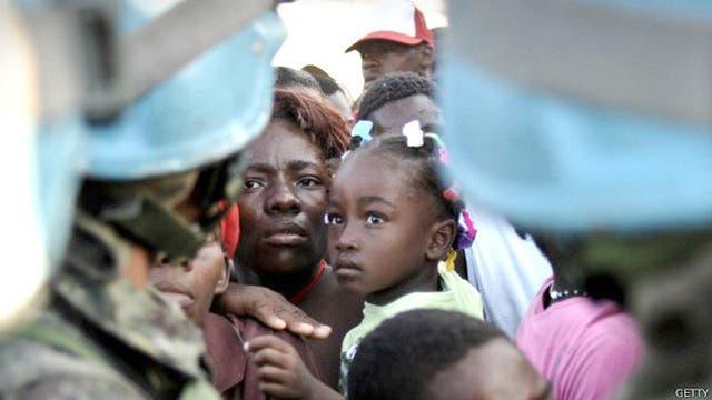 Haití es uno de los países donde se denunció explotación o abuso sexual por parte de soldados o personal de la ONU.