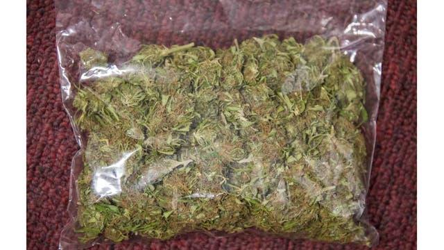 Una bolsa de marihuana en Montevideo