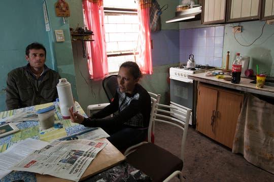 """""""Mañana lo tenés muerto"""", dice Sandra que le dijo, amenazante, el policía. Foto: LA NACION / Guadalupe Aizaga"""