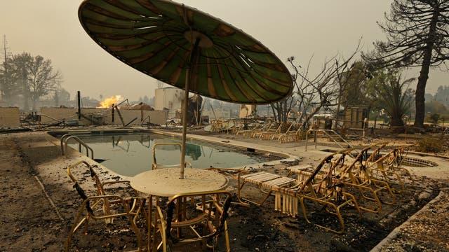 Los incendios se desataron anoche ya hay al menos 20.000 evacuados