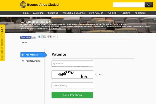 En la web del Gobierno de la Ciudad es posible realizar el trámite completo, hasta pagar