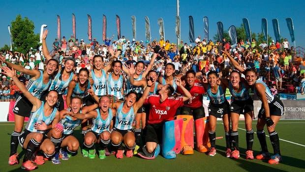 Las Leoncitas vencieron a Holanda y se consagraron campeonas mundiales