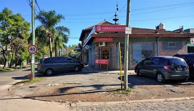 La farmacia en el barrio La Merced fue un blanco de los ladrones