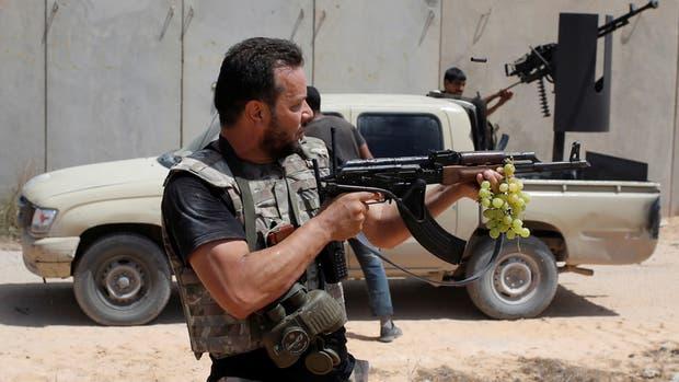 Fuerzas locales aliadas apoyan la iniciativa del gobierno libio que pidió la ayuda de Estados Unidos