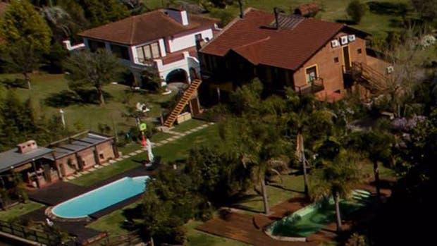 La casa de José López en Tigre era del