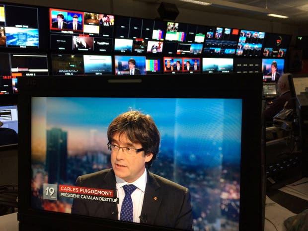El ex presidente catalán, en su última entrevista en Bruselas