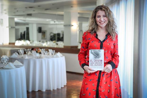 Luciana Mantero, autora de El deseo más grande del mundo