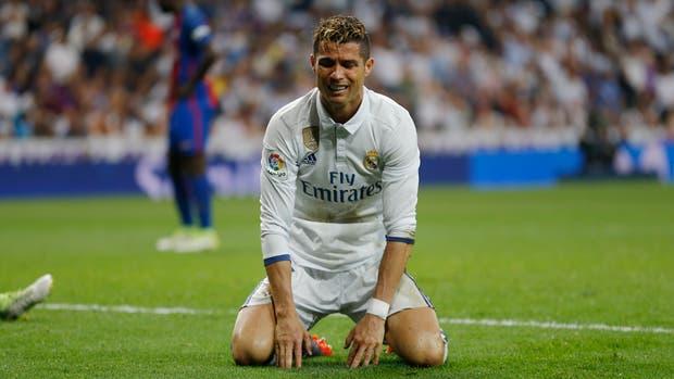 La angustia de Ronaldo