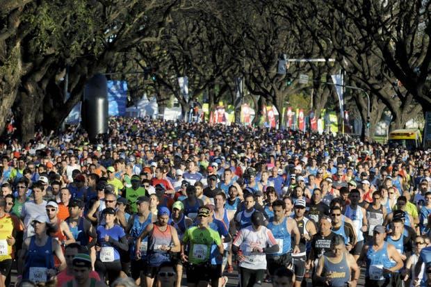 Masiva y convocante maratón de Buenos Aires