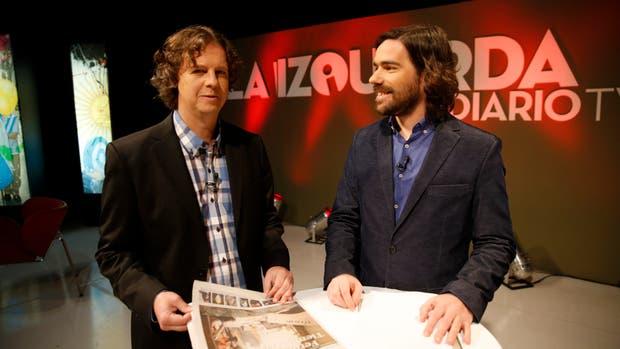 Christian Castillo y Nicolás del Caño conducen La Izquierda Diario TV