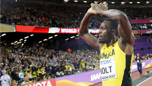El adiós de Usain Bolt en los 100 metros
