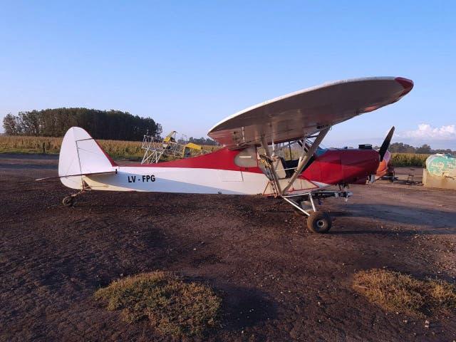 Una de las avionetas que se utilizaba para traficar drogas