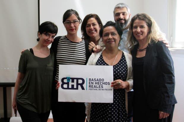 Los organizadores de BHR: Ana Prieto, Victoria Rodríguez Lacrouts, Silvina Heguy, Cecilia González, Víctor Malumian y Luciana Mantero