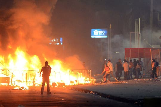 Río de Janeiro fue una de las ciudades donde más se sintió la protesta: hubo alrededor de 300.000 manifestantes. Foto: AP