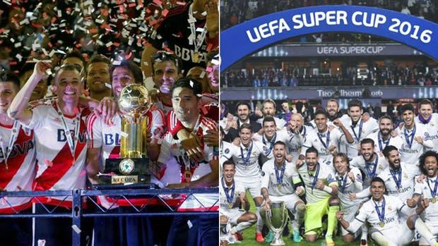 ¿River-Real Madrid en un duelo oficial de Supercampeones?