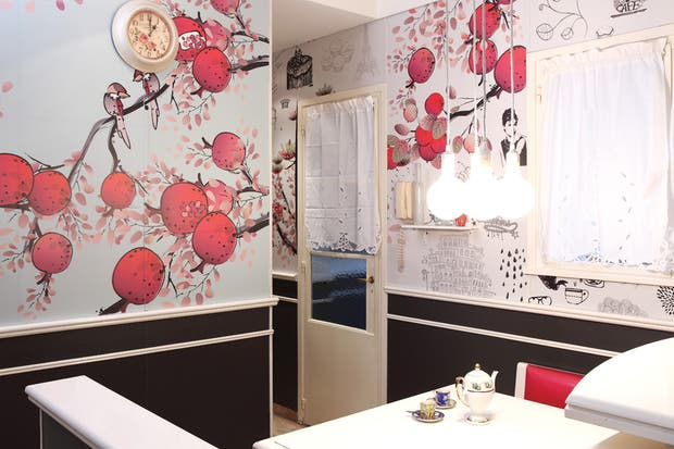 Revestimientos: ideas para decorar tu cocina   living   espacio living