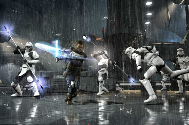 Una escena del juego Star Wars: The Force Unleashed 2 del estudio LucasArts