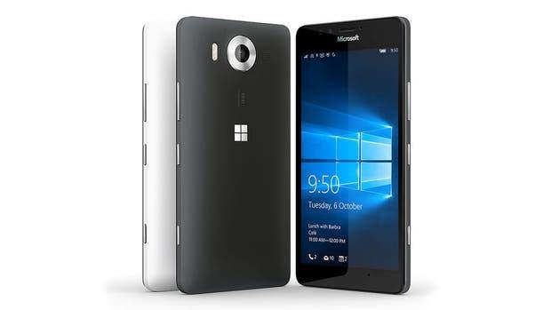 El Microsoft Lumia 950, el primero en ofrecer Windows 10 Mobile