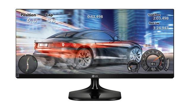 El monitor 25UM58-P y 29UM58-P de LG, disponible en 25 y 29 pulgadas