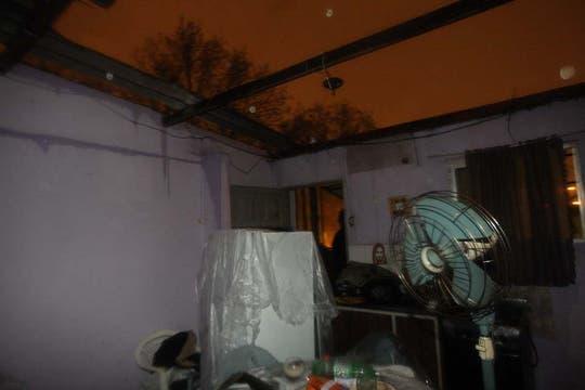 Temporal de lluvia y viento en Buenos Aires. Foto: LA NACION / Marcelo Gómez