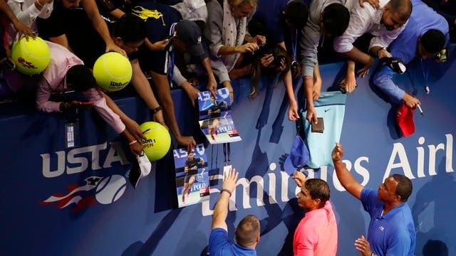 En imagenes, ceremonia, personajes, jugadas y los detalles del ultimo Grand Slam del año y el gran campeón Rafa Nadal. Foto: AP