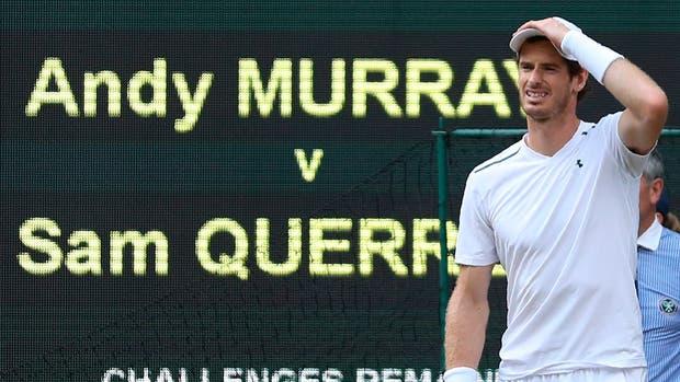 Murray derrotado en su casa