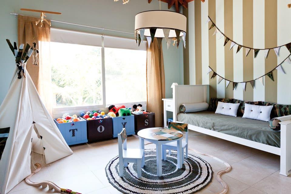 Cuarto de chicos: un dormitorio que contempla el porvenir