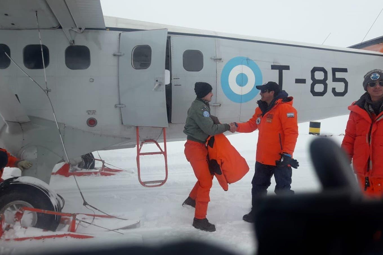 Resultado de imagen para DH6 Twin Otter de la Fuerza Aérea Argentina