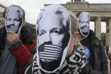 Assange perdió su asilo en la embajada de Ecuador en Londres el 11 de abril último.