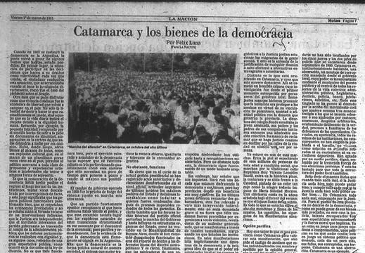 Los textos más destacados que publicó en LA NACION. Foto: Archivo / Búsqueda documental de Gabriela Miño