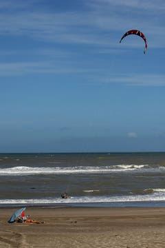 La Caleta, un paraíso de sol y tranquilidad a muy pocos kilómetros de Mar del Plata. Foto: LA NACION / Mauro V. Rizzi