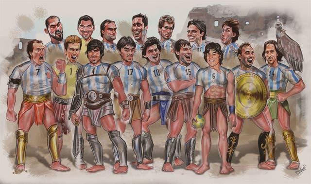 Los Gladiadores del Handball en Suecia