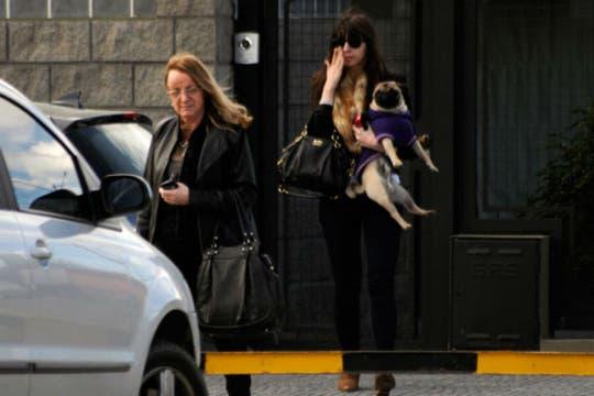 Alicia Kirchner y Florencia juntas luego del almuerzo junto a la Presidenta. Foto: OPI Santa Cruz