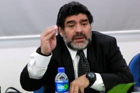 Diego habló de Diego Fernando, Verónica y defendió a sus hijas y a Claudia Villafañe