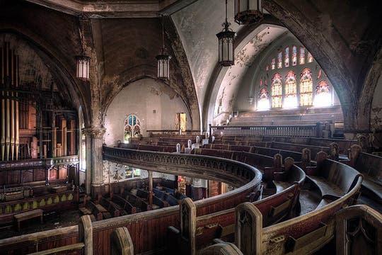 La iglesia presbiteriana Woodward de Detroit. Foto: Flickr/rickharris