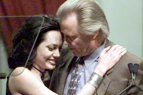 Angelina y Jon, en tiempos más felices