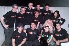Algunos de los miembros de la ONG Capicüa