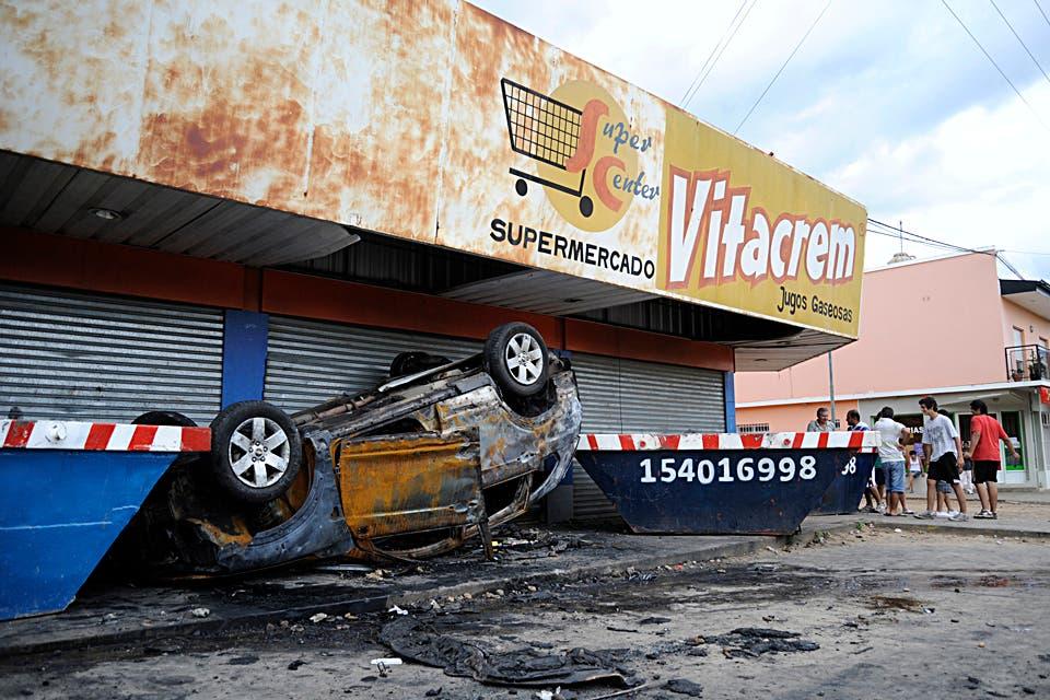Son 8 los muertos por los saqueos y se mantiene la tensión en varias provincias del país