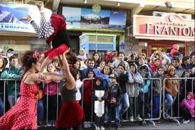 Se vivió una fiesta en las calles de Bariloche