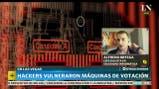 Hackers vulneraron máquinas de votación - Martina Rua en Más Despiertos