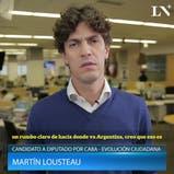 Elecciones 2017: qué es lo que más le preocupa de su distrito a Martín Lousteau