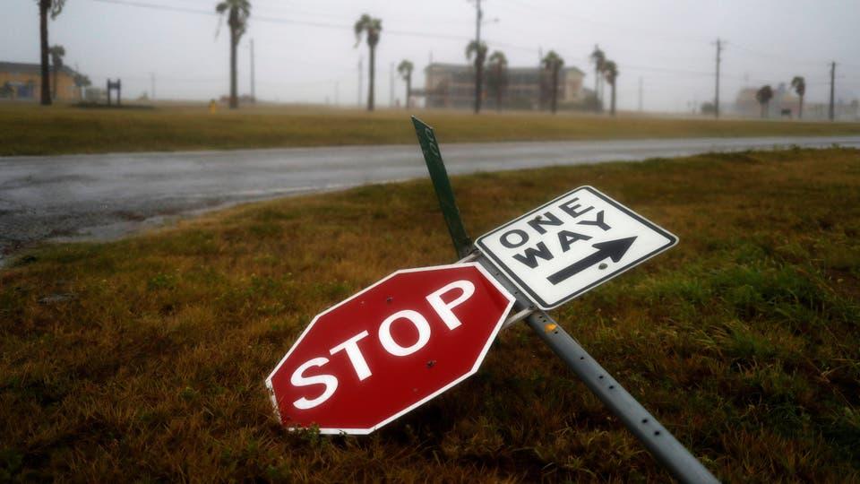En fotos: el paso del huracán Harvey por la costa de Texas. Foto: AP / ADREES LATIF