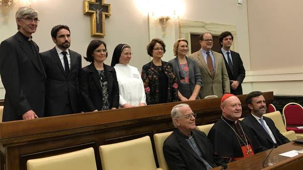 Los argentinos fueron premiados en el Vaticano