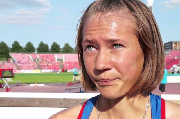 Ekaterina Sokolenko (3.000 metros obstáculos), una de las habilitadas