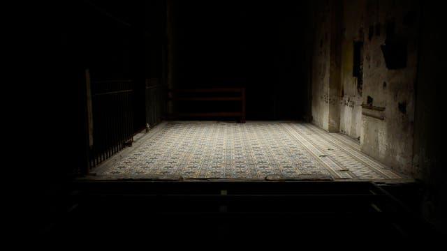 Donde aparecen las distancias, obra de Eugenia Calvo en Bienalsur (Montevideo)
