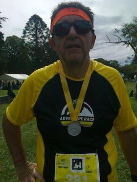 A los 54 años, Eduardo decidió mejorar su calidad de vida haciendo deporte y una dieta saludable