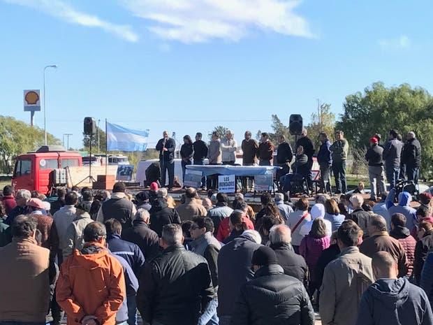 La asamblea contó con la presencia de más de 1000 personas